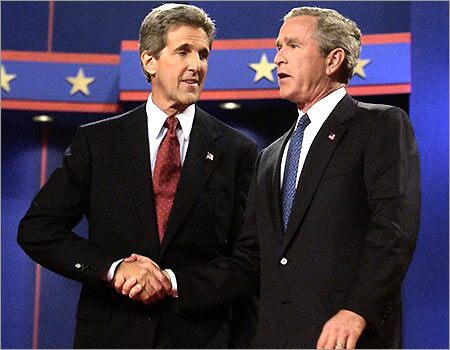 bush y kerry