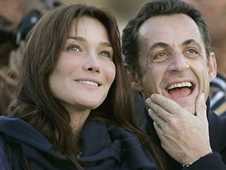 Carla Bruni and Nicolas Sarkozy in 2008.