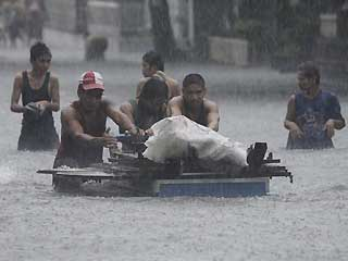 At Least 40 Dead in Floods in the Philippines
