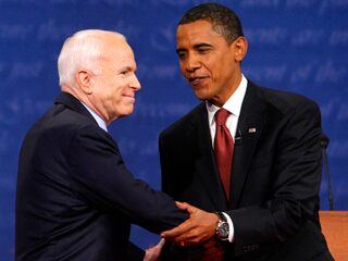 McCain and Obama meet for the first presidential debate
