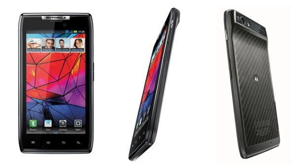 new Motorola RAZR phone