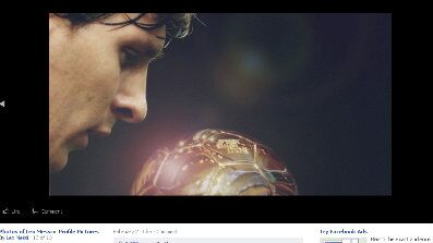 lionel messi facebook fan page